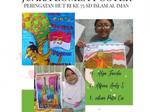 lomba poster SD Islam Al Iman